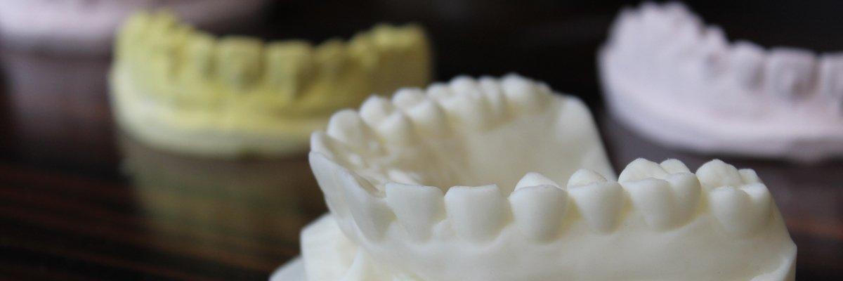 3D打印牙科模型
