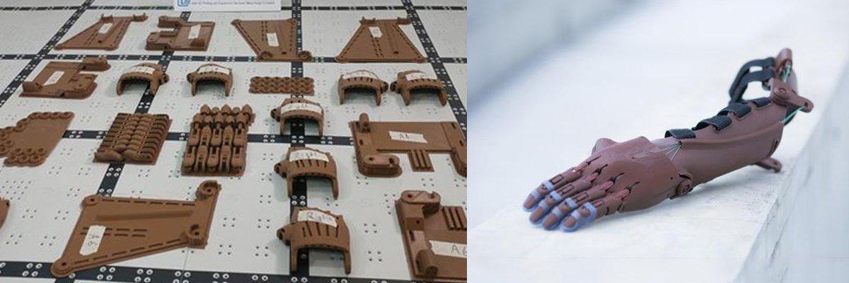 E-Nable:低成本的3D打印假肢