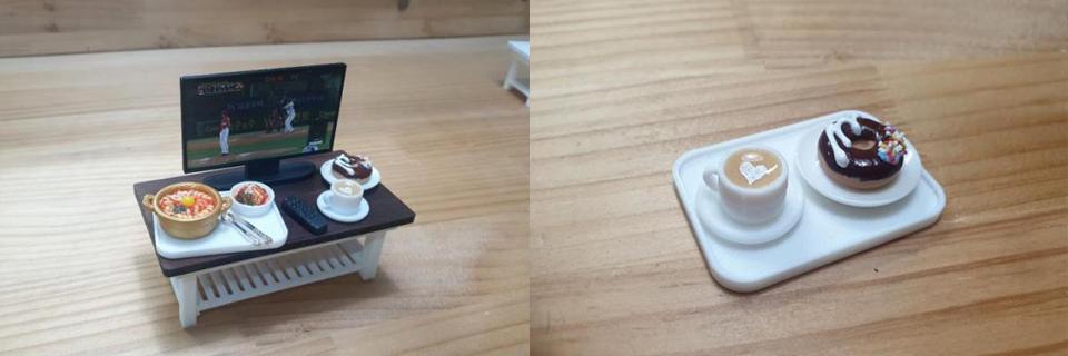 3D打印逼真的缩放模型