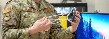 美国空军使用Raise3D打印机自制防疫口罩