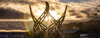世界最大3D打印雕塑Te Ahi Tupua